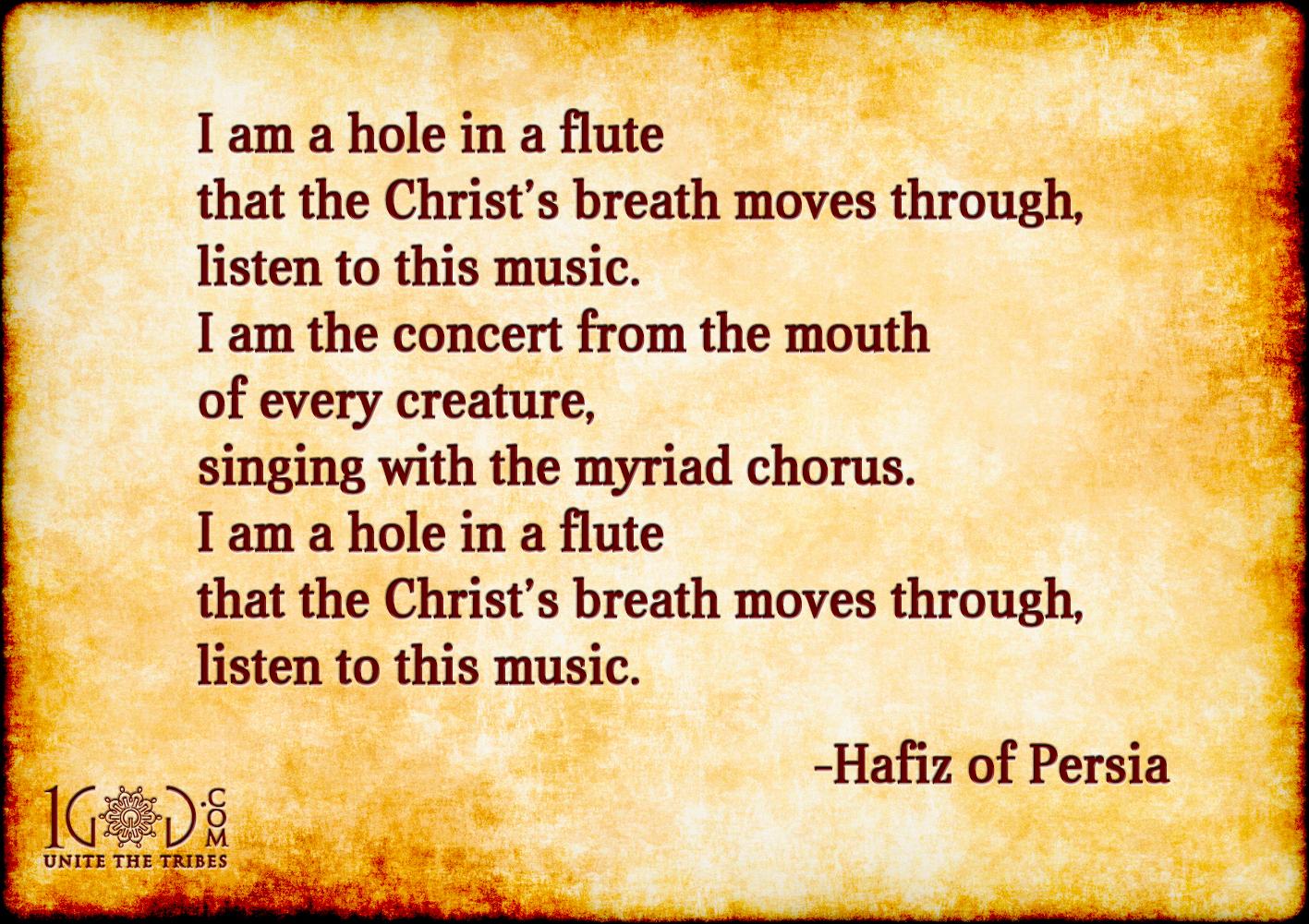 Hafiz-Quote