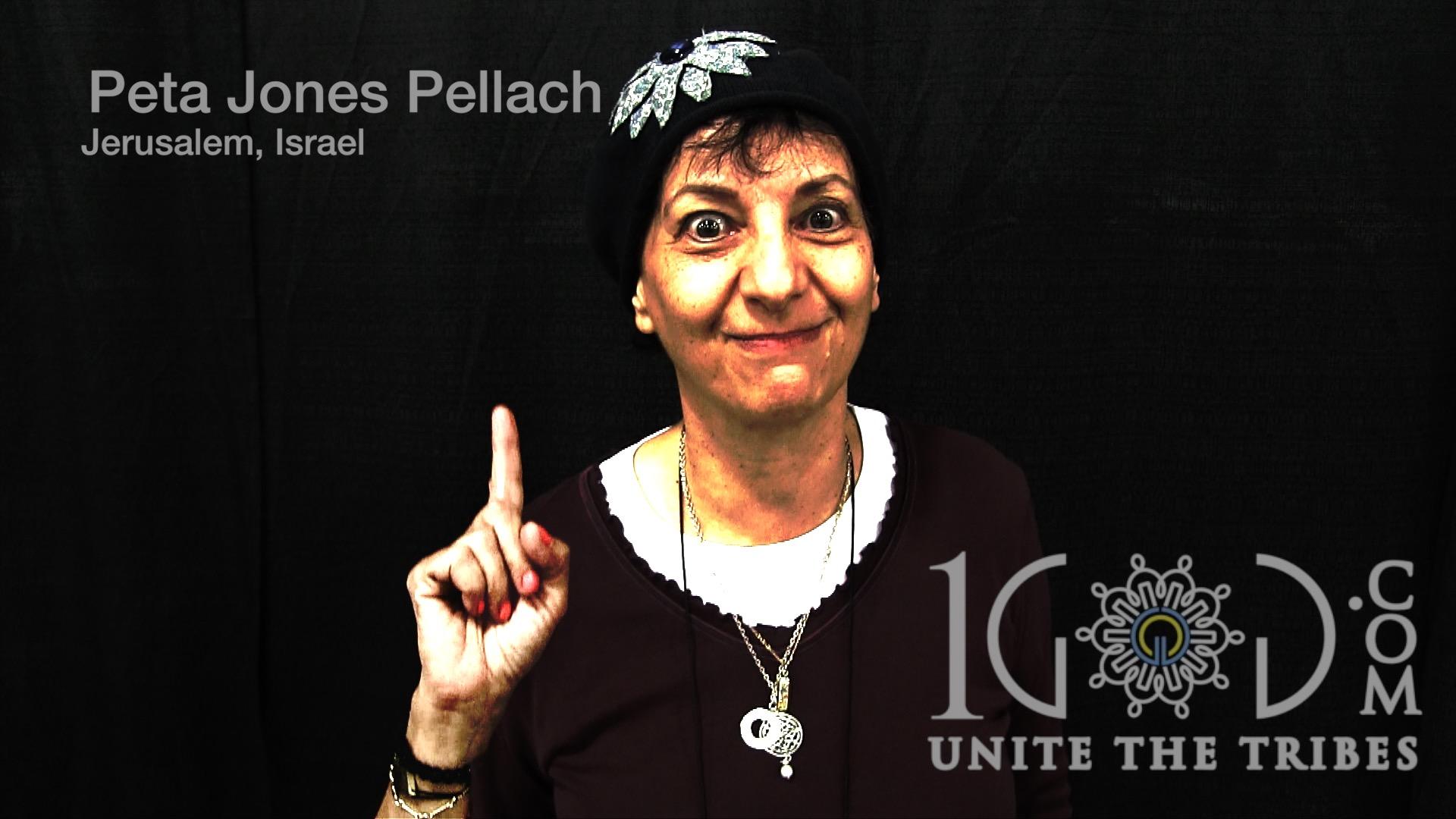 *Peta Jones Pellach 1God.com