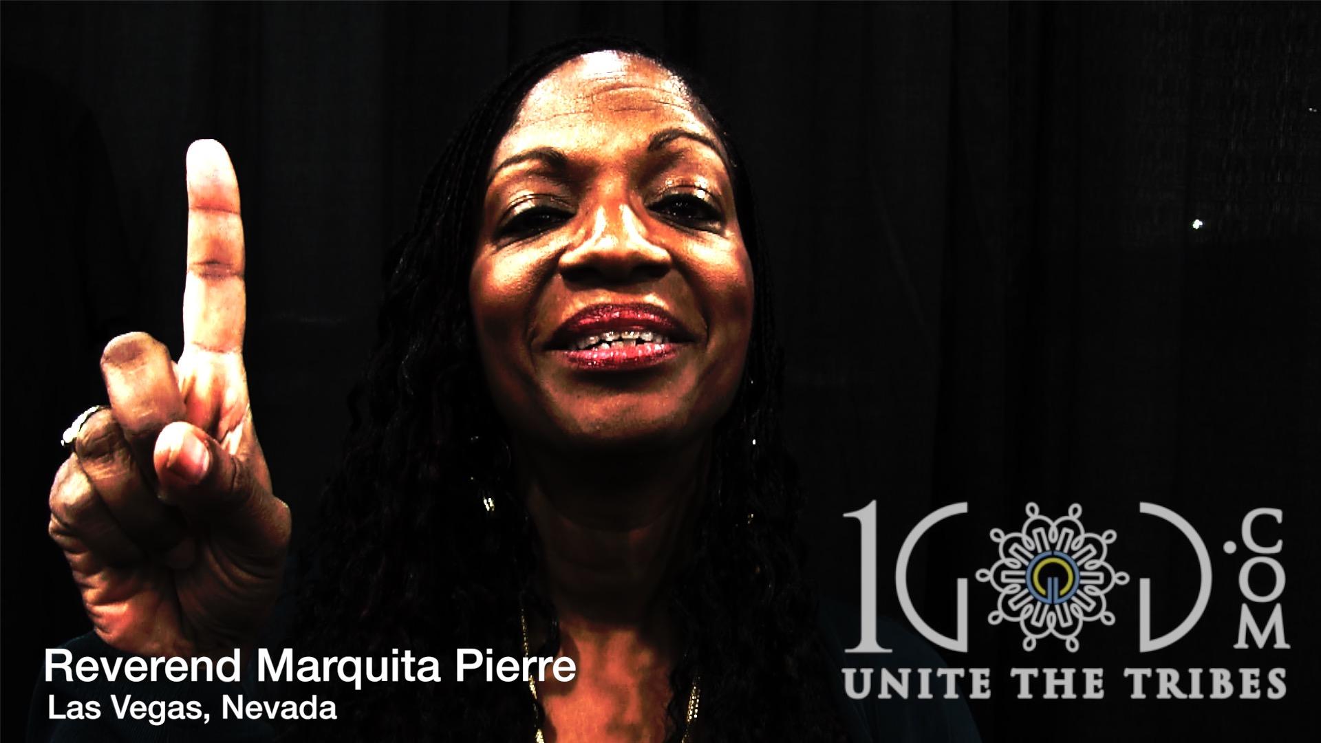 *Reverend Marquita  Pierre-McAlister 1God.com