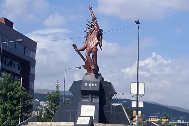 Bob Marley Statue