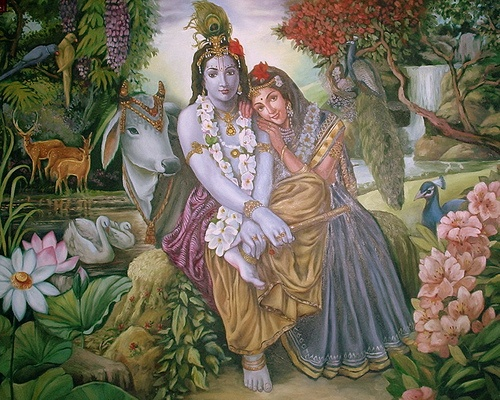 A Night with Krishna & Radha in Vrindaban