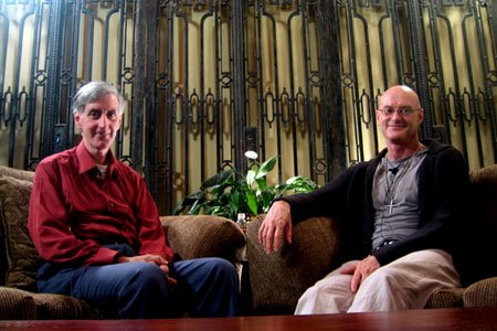 Br. Wayne Teasdale with Integral philosopher Ken Wilber