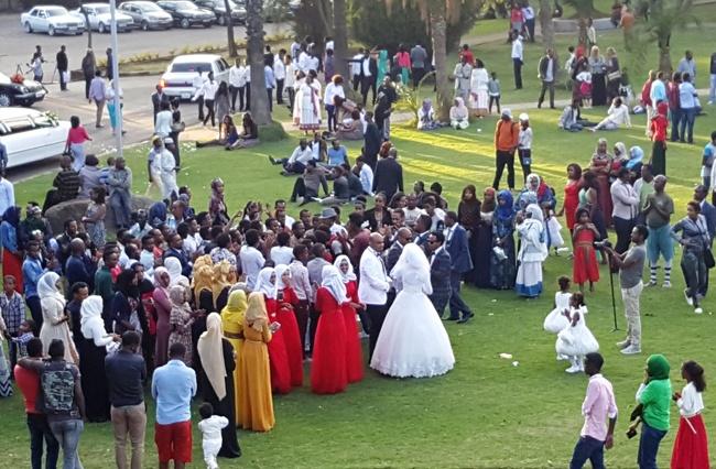 Muslim-christian wedding